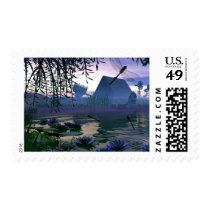 dragonfly, pond, michelle, wilder, lilly, pad, frogs, frog, farm, country, screnery, morning, lillypad, flower, flowers, barn, ponds, water, sunrise, sunset, dragonflies and damselflies, Stamp with custom graphic design