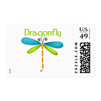 Dragonfly Postage Stamp