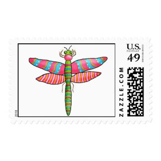 Dragonfly Postage Stamps