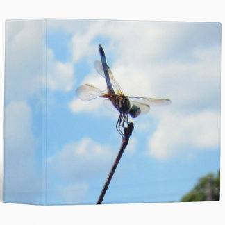 Dragonfly ~ Prepare for Take-off 3 Ring Binders