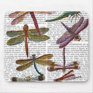Dragonfly Print 4 Mouse Pad