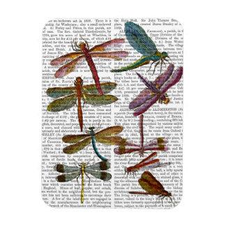 Dragonfly Print 4 Rectangular Photo Magnet
