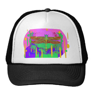 dragonfly purple-pink Gifts by Sharles Trucker Hat