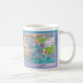"""Dragonfly Race"" Mug"
