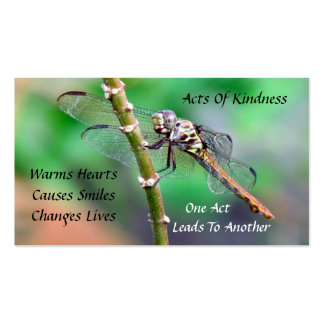 Dragonfly Random Acts of Kindness Card