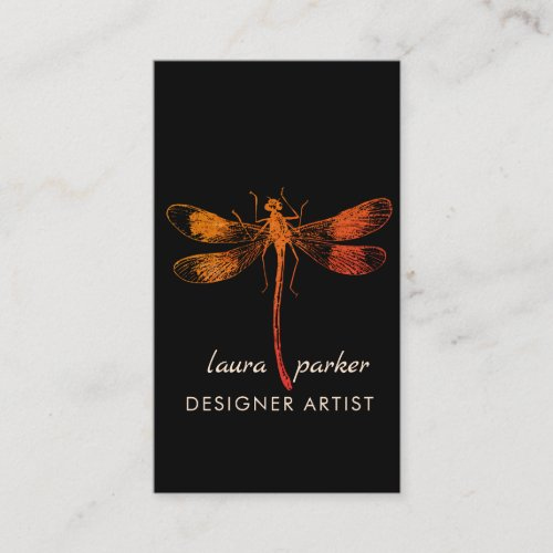 Whimsical Dragonfly Tattoo