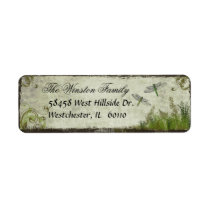 Dragonfly Return Address Labels