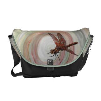 Dragonfly Rickshaw Messenger Bag