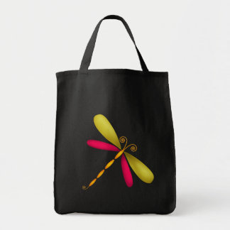 Dragonfly-rust/green Canvas Bags