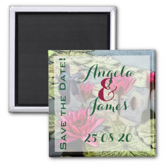 Dragonfly Save the Date Magnet