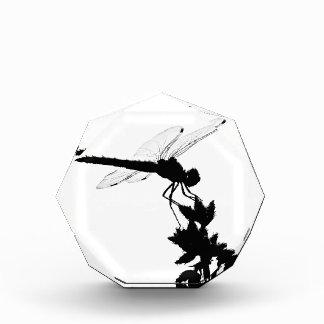 Dragonfly Silhouette Acrylic Award