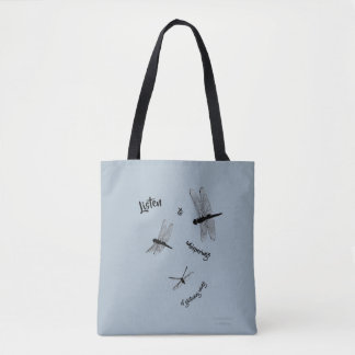 Dragonfly Silhouettes Tote Bag