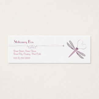 Dragonfly 'Skinny' Personal Calling Cards