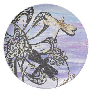 Dragonfly Sky Plate