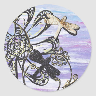 Dragonfly Sky stickers