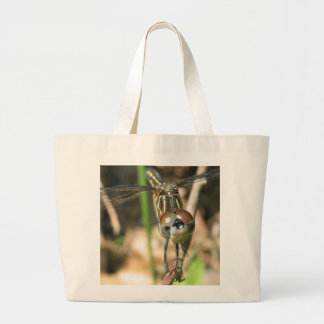 Dragonfly Smile Beach Tote Bag