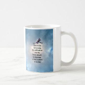 "Dragonfly ""So Loved"" Poem Coffee Mug"
