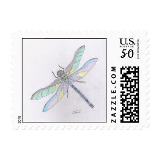 DRAGONFLY stamps