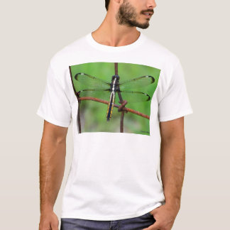 DRAGONFLY STOPS BY THE GARDEN T-Shirt