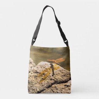 Dragonfly Sun Bathing Tote Bag