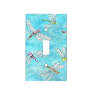 Dragonfly Switchplate Light Switch Cover