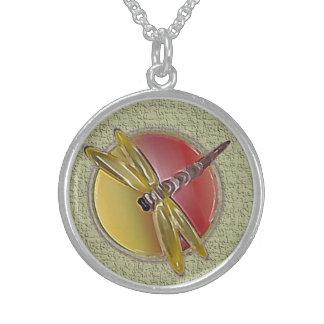 Dragonfly Symbol (sage) Necklace