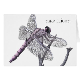 Dragonfly (Take flight.) Card