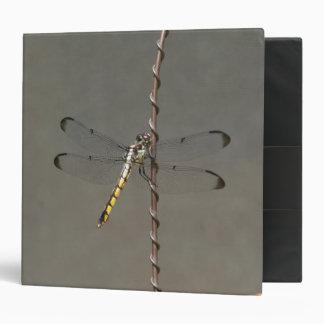 Dragonfly, Three Ring Binder. Binder
