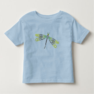 Dragonfly Typographic Tee