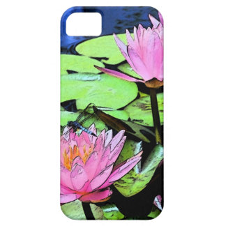 Dragonfly Waterlily iPhone 5 Covers