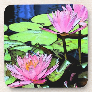 Dragonfly Waterlily Coaster