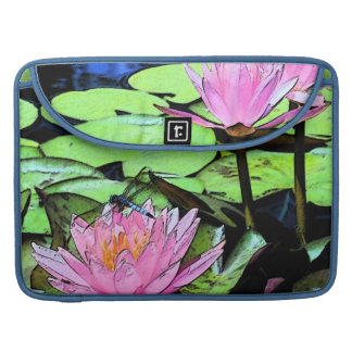 Dragonfly Waterlily MacBook Pro Sleeve