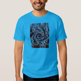 Dragonfly Wave Abstract Nature T-Shirt