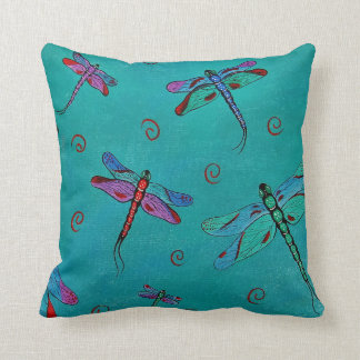 Dragonfly Whimsey Pillows