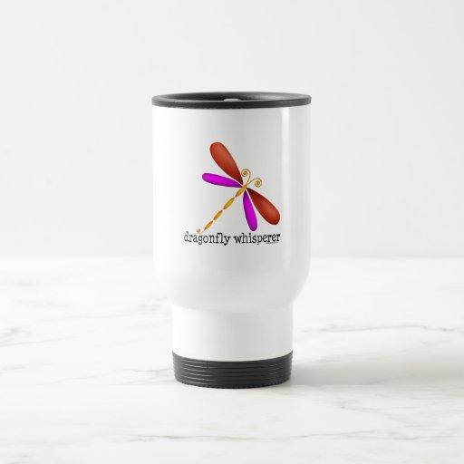 Dragonfly Whisperer Coffee Mugs