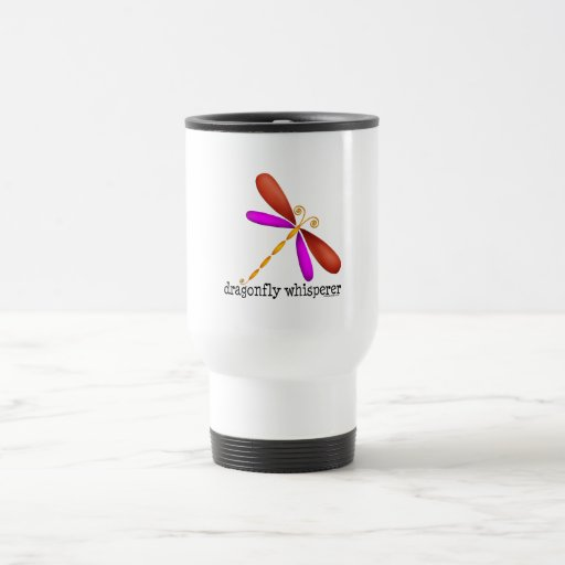 Dragonfly Whisperer Travel Mug