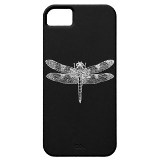 Dragonfly (white) iPhone SE/5/5s case