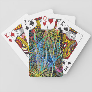 Dragonfly wing cards poker cards