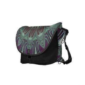 Dragonfly Wings Clock Messenger Bag
