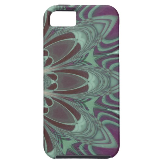 Dragonfly Wings Mandala iPhone SE/5/5s Case