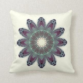 Dragonfly Wings Mandala Throw Pillows