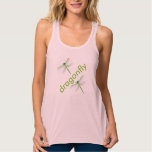 Dragonfly  Womens Tank Top  Tee Shirt Womens Ta at Zazzle
