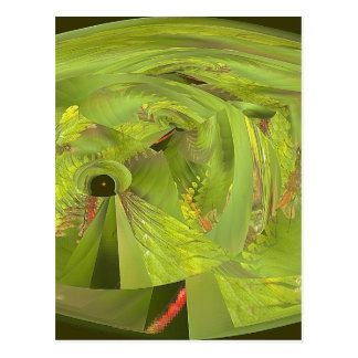 dragonfly world of wonder postcard