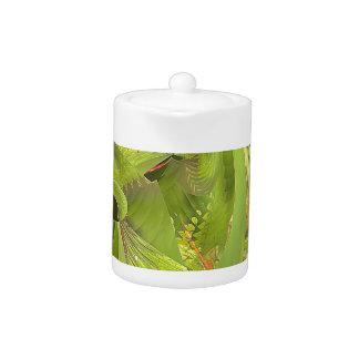 dragonfly world of wonder teapot