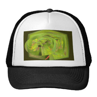 dragonfly world of wonder trucker hat