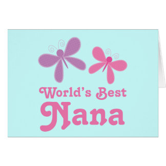 Dragonfly World's Best Nana Gift
