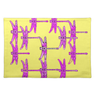 Dragonfly Yellow Gifts by Sharles Placemats