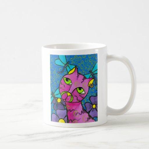 DragonflyCat Coffee Mug
