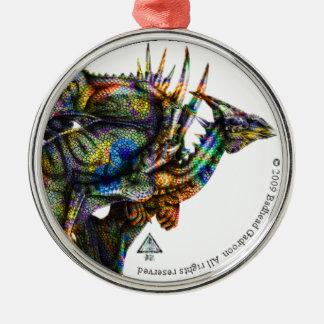 Dragongiant (color) Premium Round Ornament