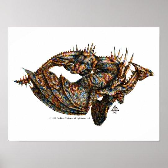 Dragongiant (color) Print